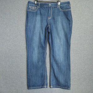 Inc Denim Regular Fit BootCut Jeans